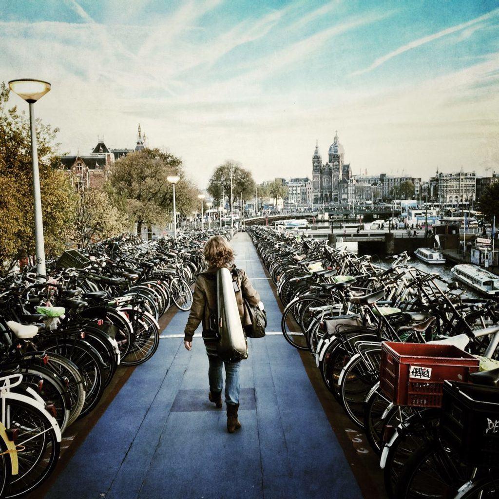 Amsterdam Bike Parking