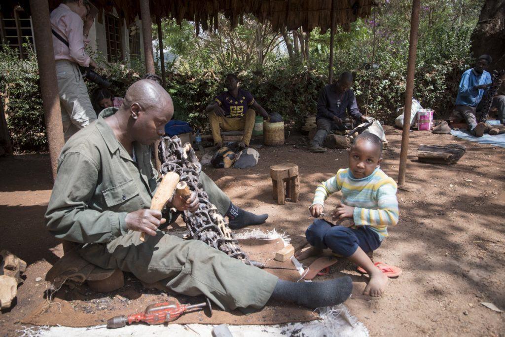 Makonde Woodcarvers in Tanzania