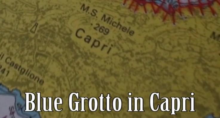 Blue Grotto in Capri video