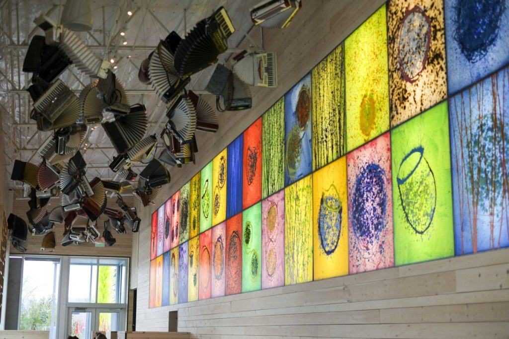 Collections Cafe' at Chihuly Gardens
