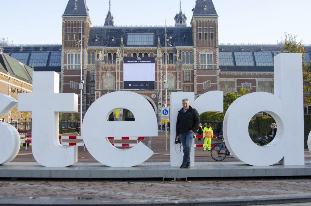 Funny Amsterdam Sign Photo