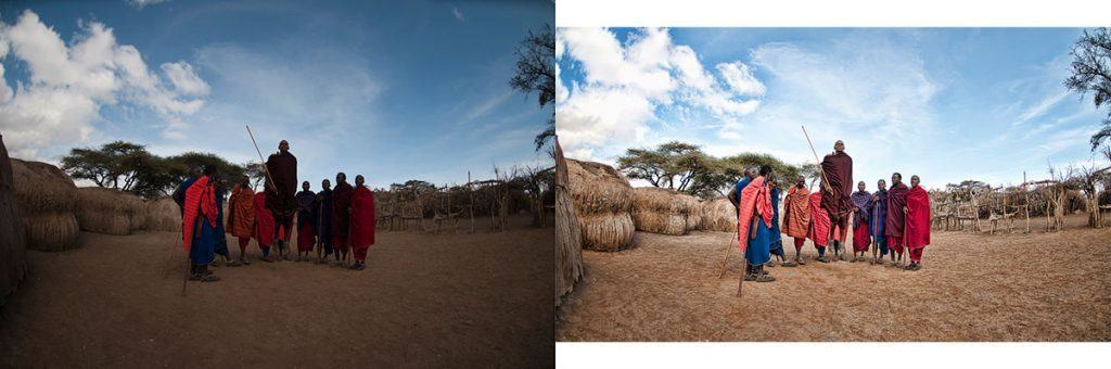 Maasai Jumping Comparison Photo