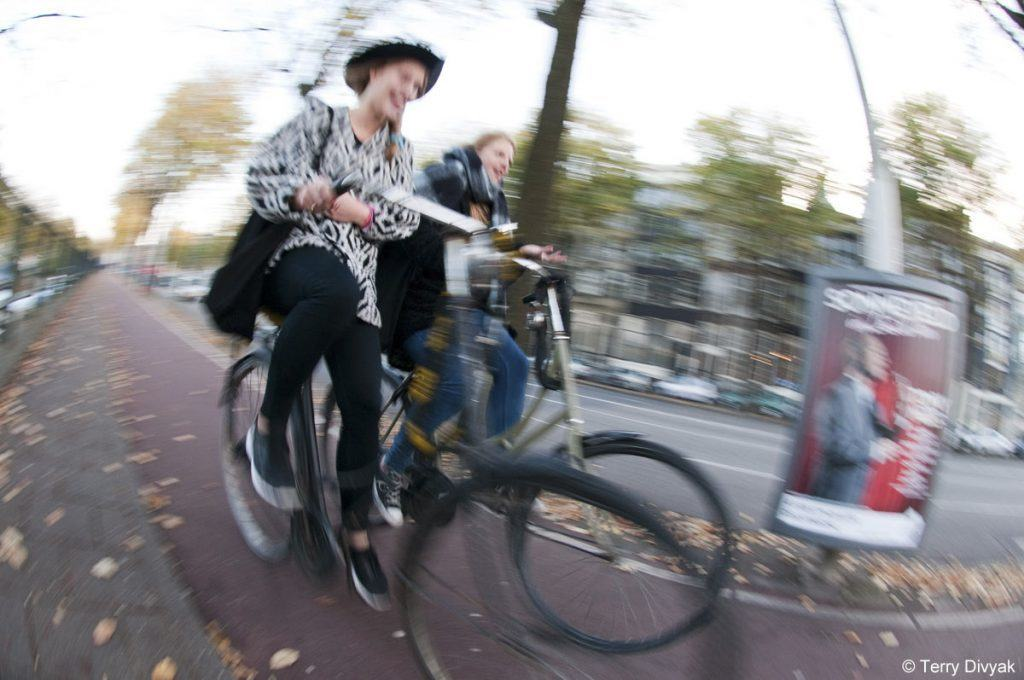 Amsterdam Bicyclists