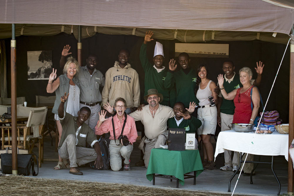 Tour Group on Luxury African Safari