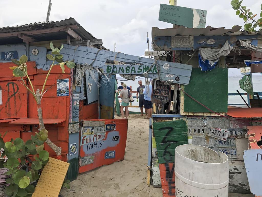 Bomba Shack in the British Virgin Islands