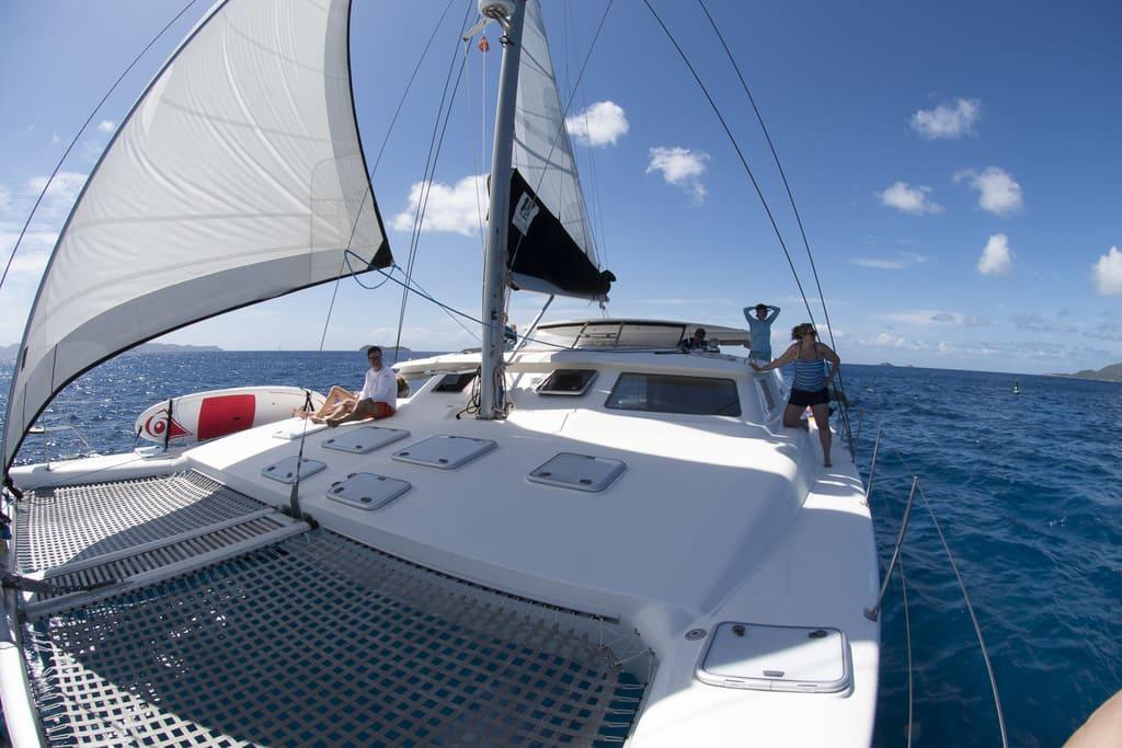 Voyage Charters Knot Bad Catamaran