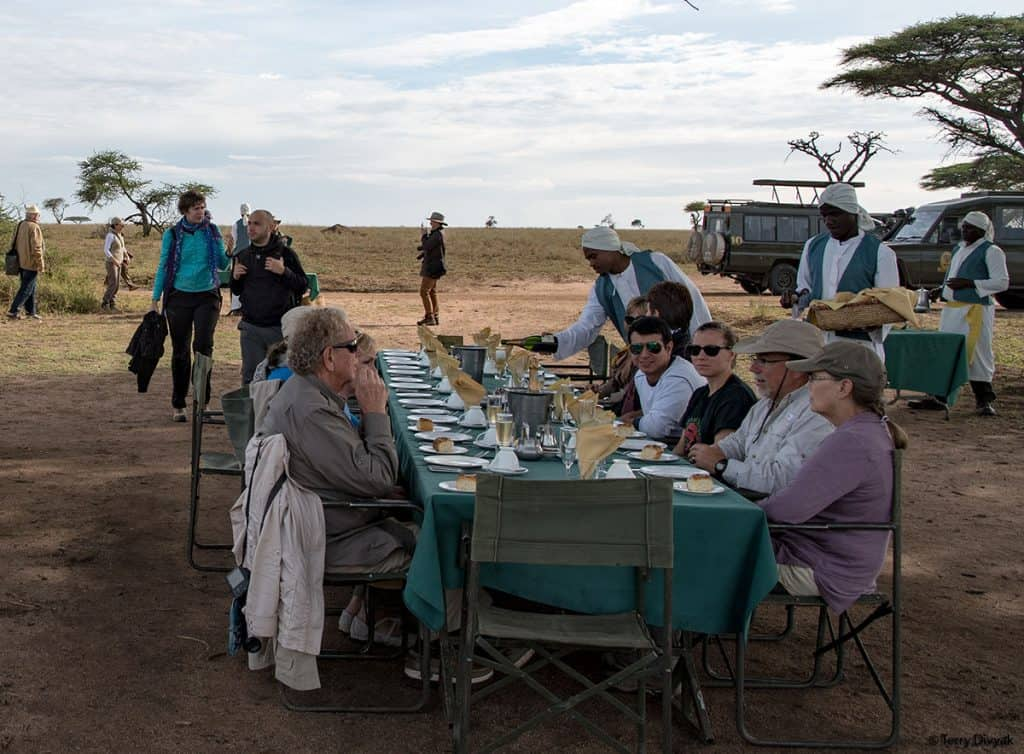 Serengeti Hot Air Balloon Breakfast