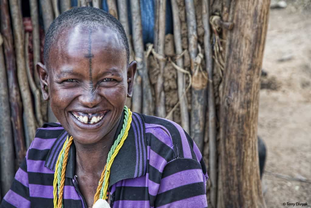 Lady in Tanzania