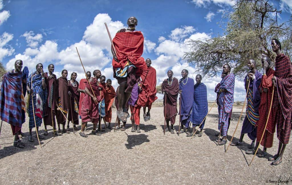 Maasai Jumping Dance
