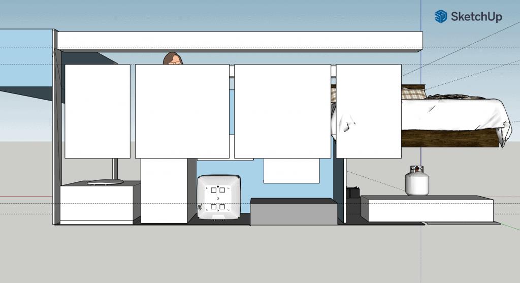 Sketchup RV Conversion Idea
