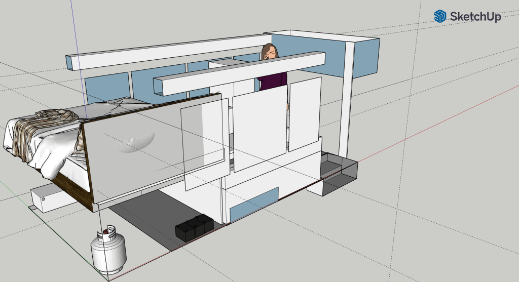 Sketchup bus plans idea