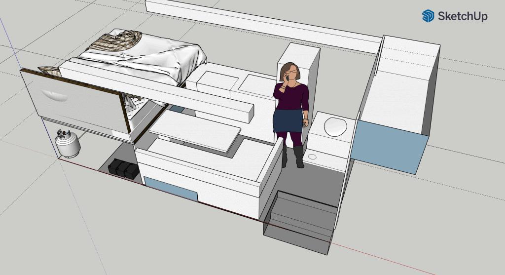 Sketchup bus build idea