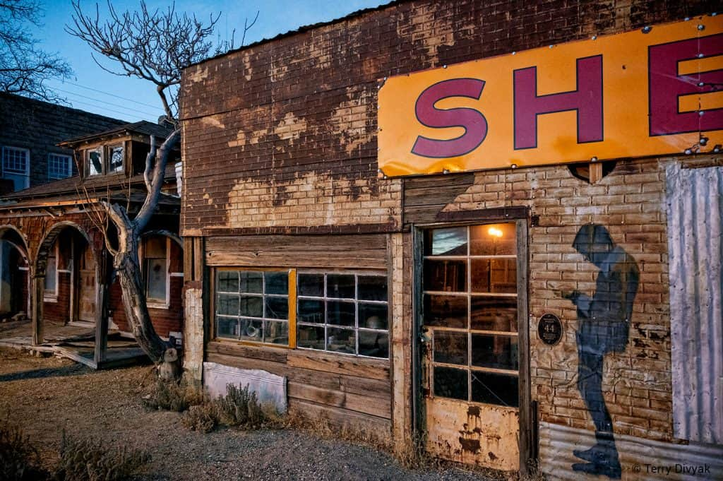 Old store in Goldfield, Nevada