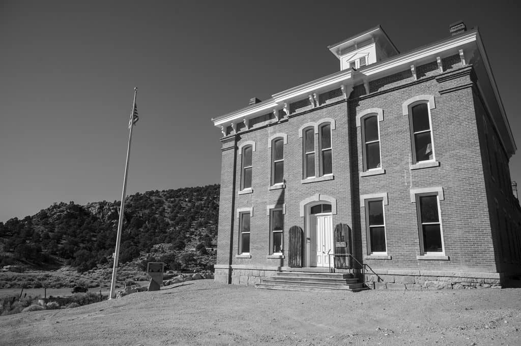 Courthouse in Belmont, Nevada