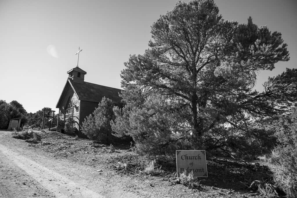 Church in Belmont, Nevada